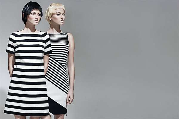 Striped Shift Dresses