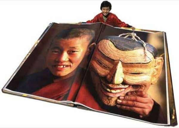 Giant Book of Bhutan