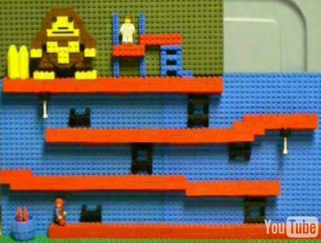 Lego Gaming Screens