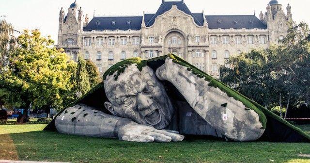 Sleeping Giant Sculptures