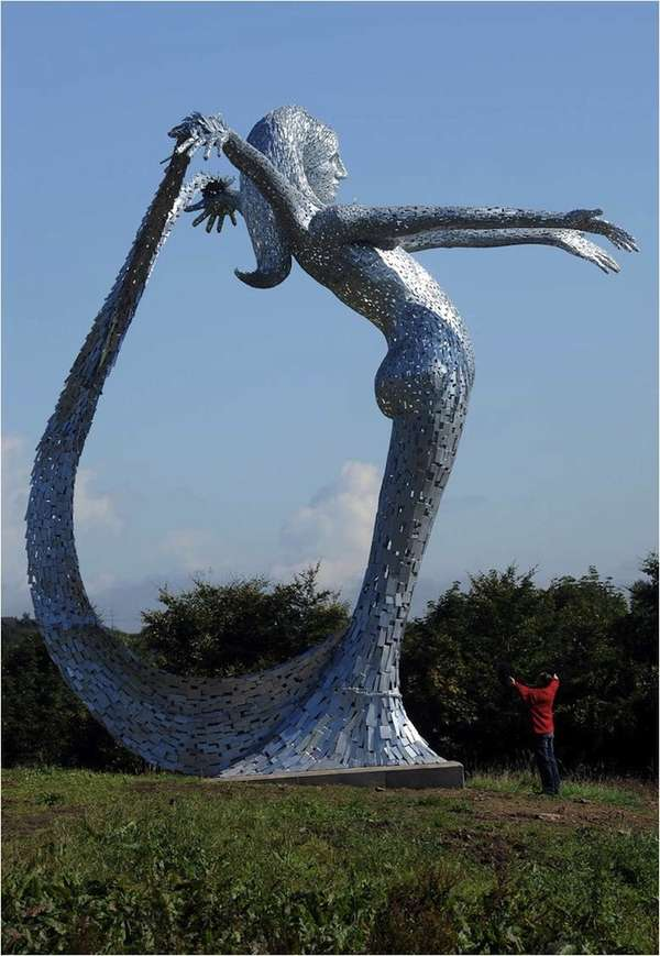 Giant Mermaid in Scotland
