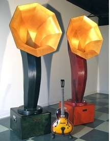 Giant Phonograph Speakers