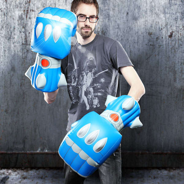 Inflatable Mecha Mittens