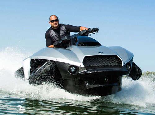 Amphibious Jet Skis