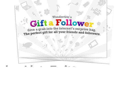 Virtual Twitter Gifts