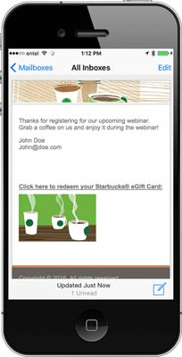 Coffee eGifting Software