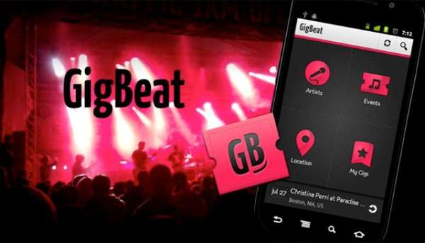 GigBeat app