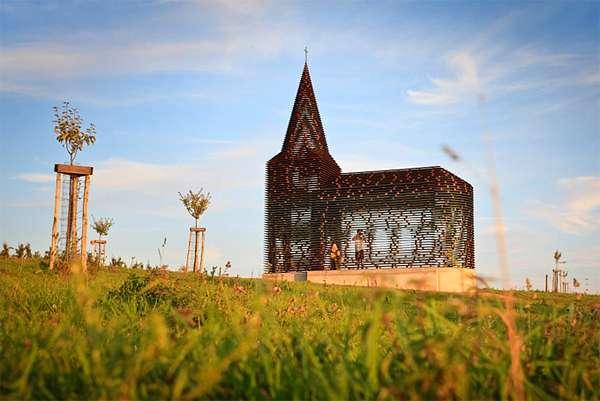 Transparent Sacred Chapels