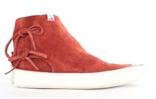 Monochrome Leather Kicks
