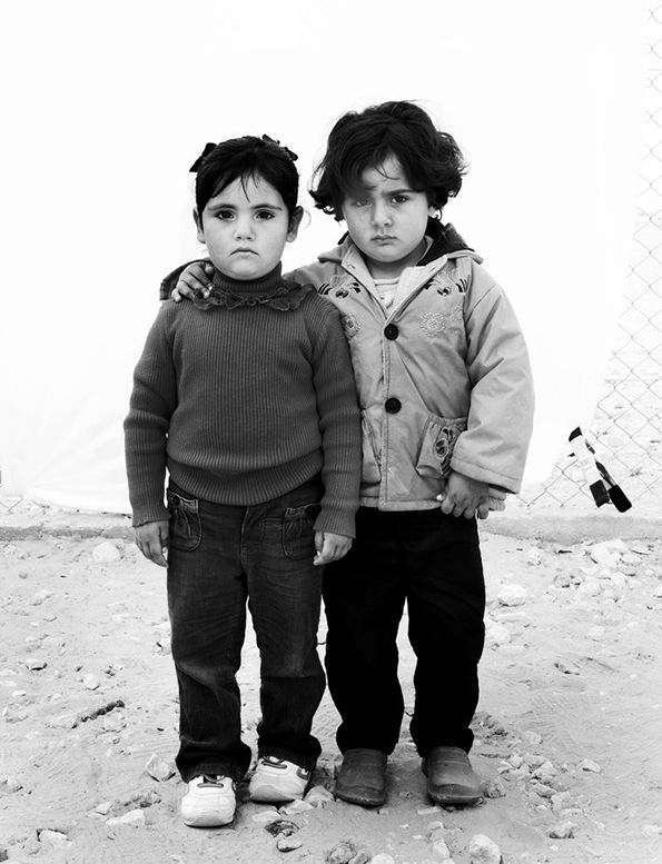 Syrian Refugee Portraits