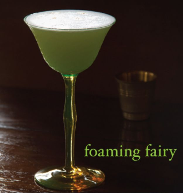 Frothy Absinthe Cocktails