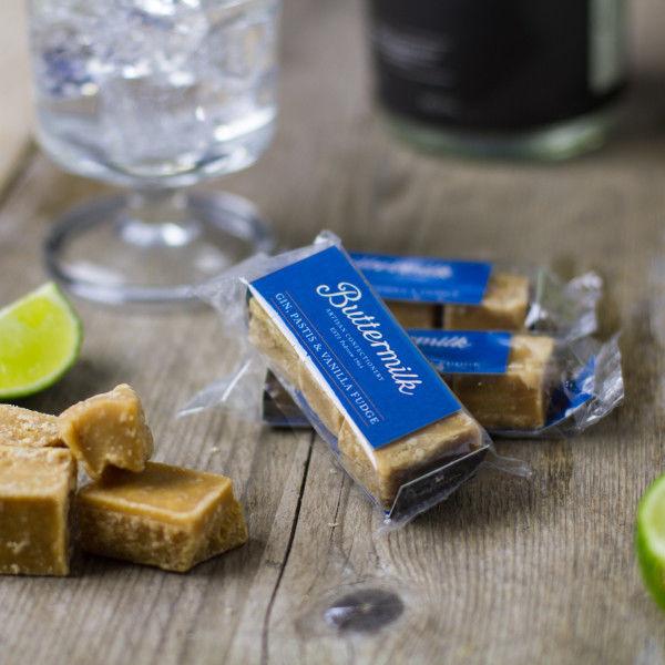 Alcohol-Infused Fudge Desserts