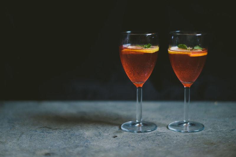 Plum Kombucha Cocktails