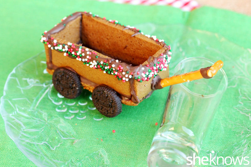 Gingerbread Wagon Desserts