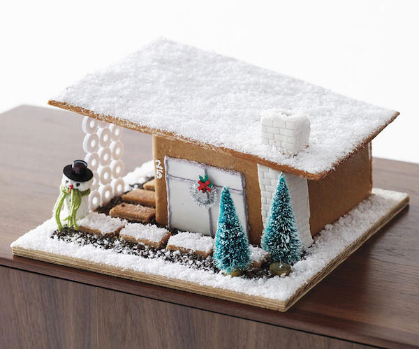 Modern Gingerbread Homes