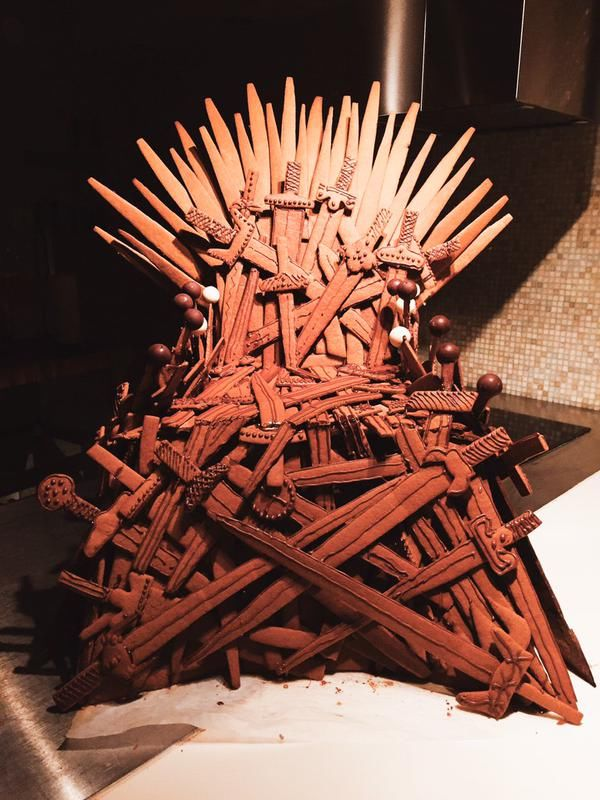 Throne-Themed Gingerbread