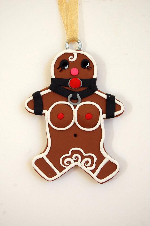 Seductive Literary Gingerbread Decor