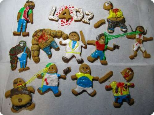 Gingerbread Zombies