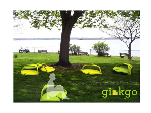Leaf-Inspired Lawn Chairs