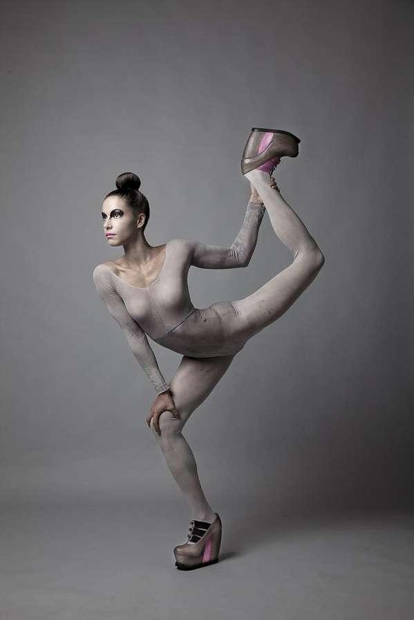 Yoga-Inspired Footwear Lookbooks