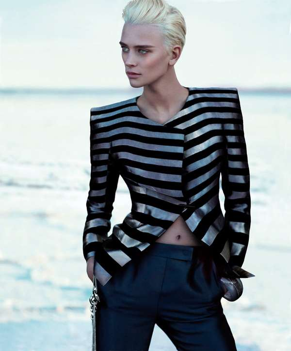 Androgynous Seaside Campaigns