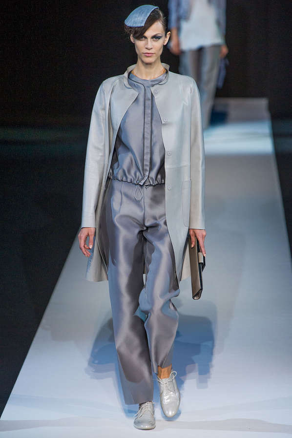 Monochromatic Space-Inspired Runways
