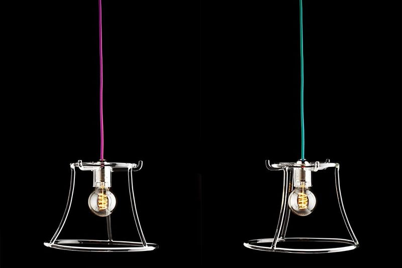 Construction-Inspired Lamps