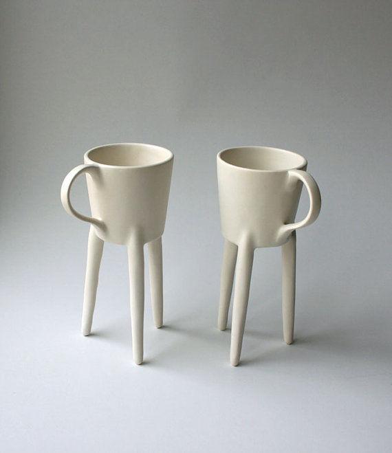 Giraffe-Inspired Mugs