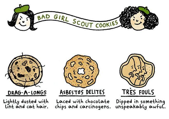 Evil Cookie Infographics