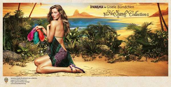 Gisele Bundchen Ipanema Hot Sands Collection