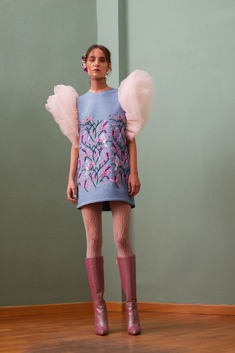 Eccentric Ruffled Clothing Collections