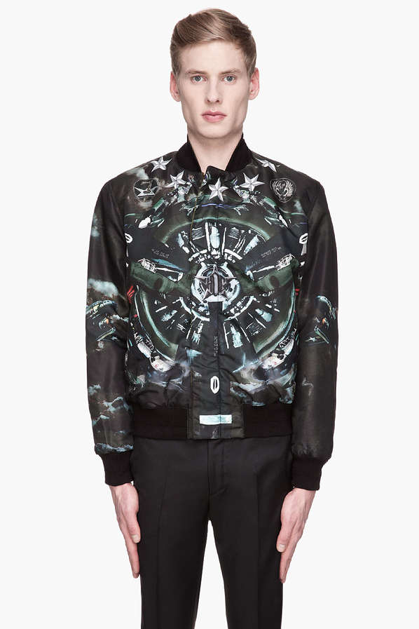 Military-Inspired Bomber Jackets