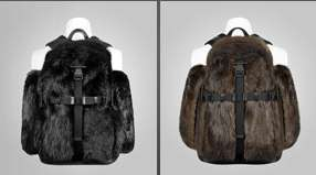 Beaver Fur Backpacks