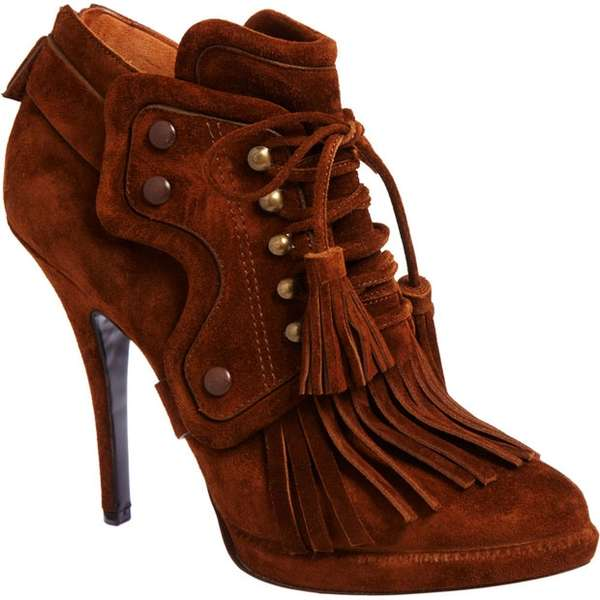 Moccasin Bootie Pumps