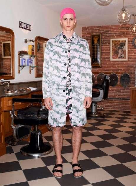 Pattern-Clashing Menswear