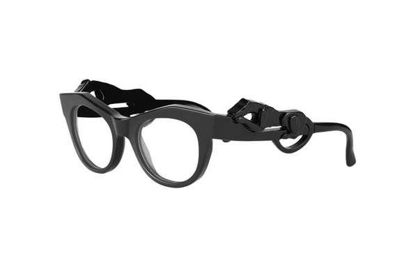 Cat-Eyed Glasses