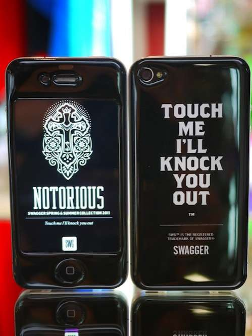 Gizmobies x SWAGGER iPhone 4 Cases