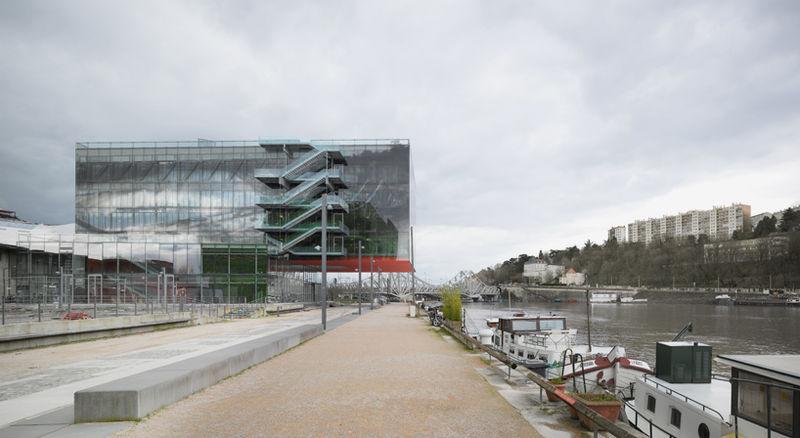 Transparent Industrial Headquarters