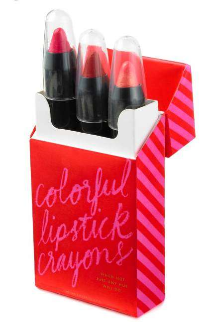 Crimson Cosmetic Crayons