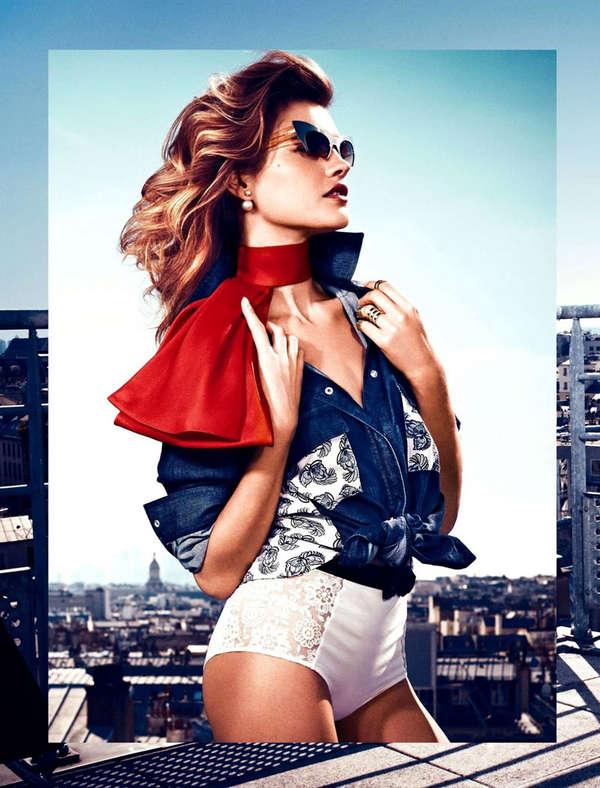 French Flag-Inspired Fashion