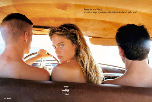 Glamour Germany 'On The Road'