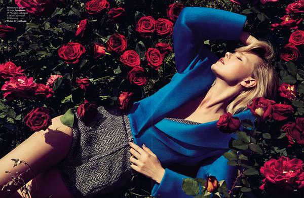 Sensual Floral-Filled Series