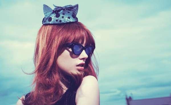 Kitten Fascinator Fashion