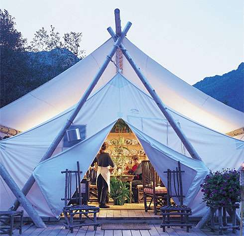 Glamping in Clayoquot