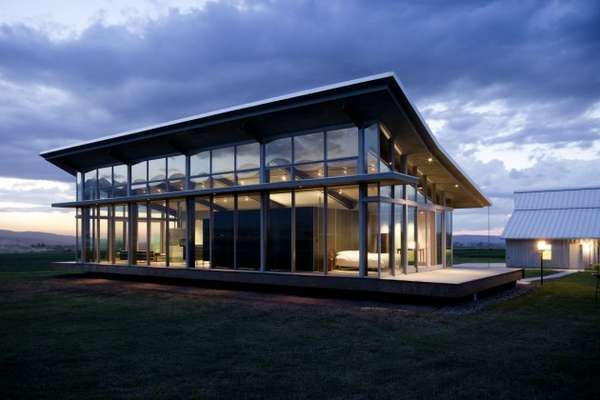 Glass Farmhouse