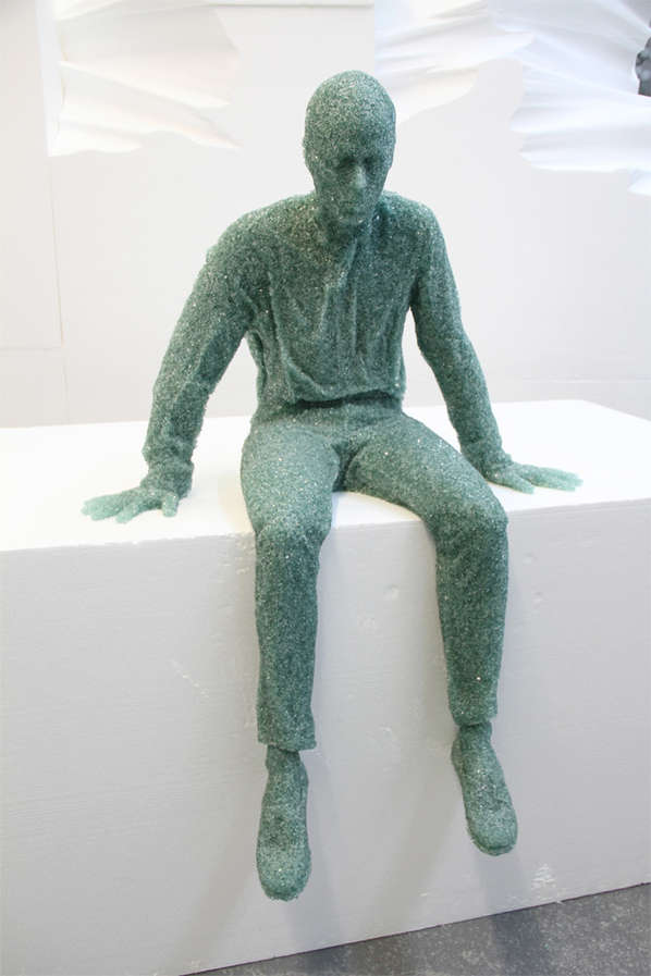 Glass Figures by Daniel Arsham
