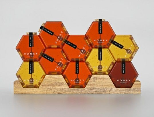 Modular Geometric Honey Jars