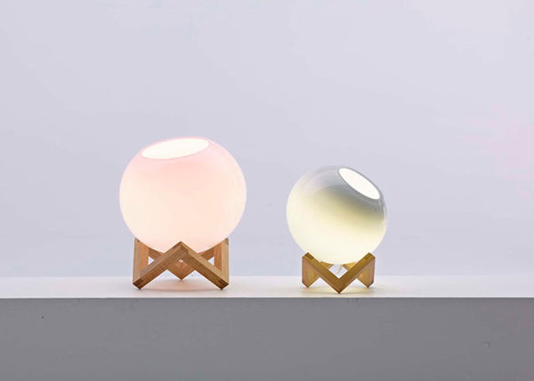 Transparent Pastel Lamps