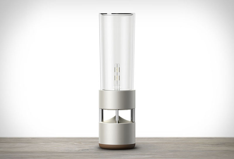 Illuminating Glass Speakers