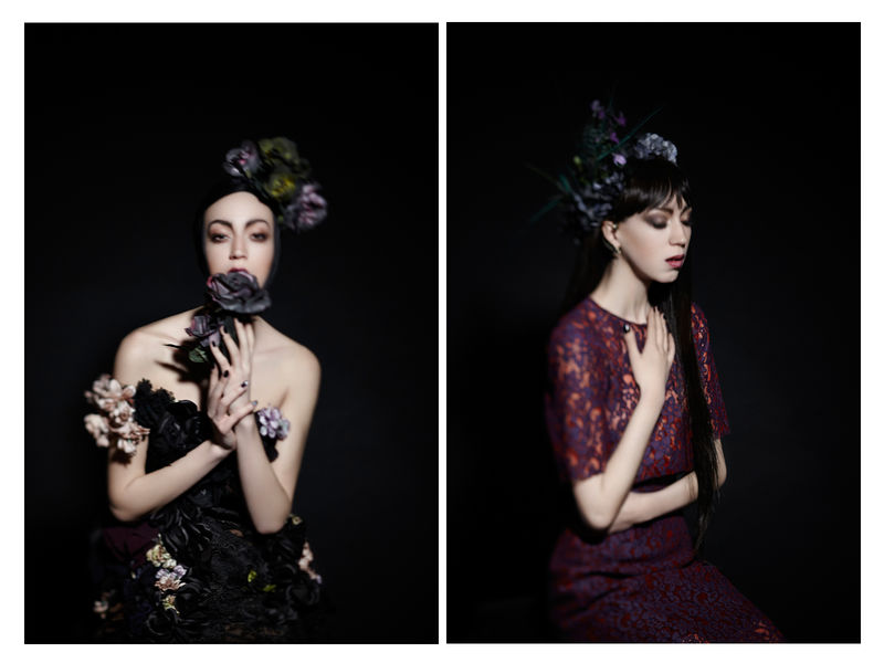 Theatrically Floral Editorials